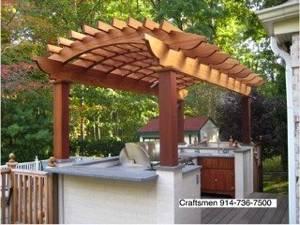 Outdoor Kitchen Pergola Larchmont 10538