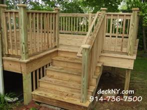 Beau Small PT Deck, Stairs U0026 Handrail. Yonkers, NY 10701 10703 10706