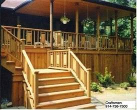 Deck, Porch, Patio Builder, Repairs. Westchester NY 914 736 7500